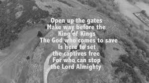 lion and the lamb our god is the lion lyric video youtube