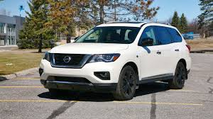 black nissan pathfinder 2017 nissan pathfinder midnight edition test drive review