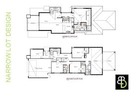 luxury narrow lot house plans homes floor plans