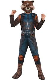 Raccoon Halloween Costumes Guardians Galaxy Vol 2 Costumes Starlord Groot Rocket