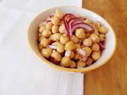 cuisiner les c es frais salade de pois chiches au cumin le début de la faim
