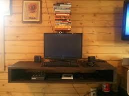 Modern Desk With Storage by Home Design Floating Desk With Storage Cabinets Lawn Floating