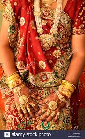 indian wearing traditional gold jewellery in