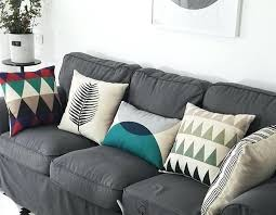 blue and gray sofa pillows amazing sofa pillows ideas rewardjunkie co