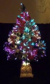 chrismas tree fiber optic collection on ebay