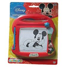 mickey mouse clubhouse magnetic sketcher amazon co uk toys u0026 games