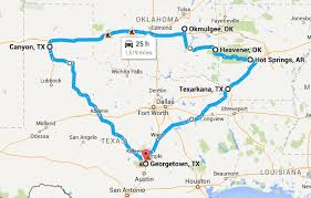 trail of tears and palo duro motorcycle ride 7 days 1691