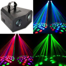 disco light active dual rotating led stage lighting club dj party disco