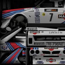 martini racing driver lancia delta s4 1986 toivonen alén racedepartment