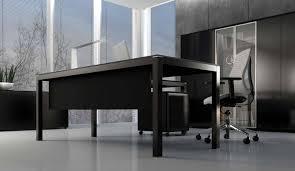 bureaux verre impuls bureau en verre noir 160 cm avec retour monbureaudesign fr