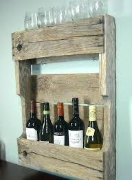 pallet liquor rack wine rack liquor cabinet with wine storage