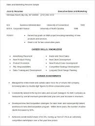 Best Marketing Manager Resume by Marketing Resume Sample Sales Marketing Resume Template Marketing