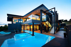 dream houses world of architecture amazing dream home in black and blue