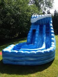 inflatable water slide rentals nj dry slide rentals nj
