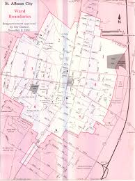 map of st albans mayor and city council city of albans
