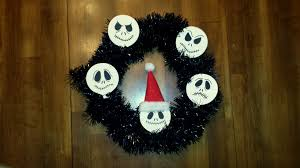 the nightmare before christmas wreath instructions the enchanted
