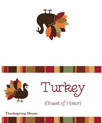 thanksgiving templates free placecards menus labels and more