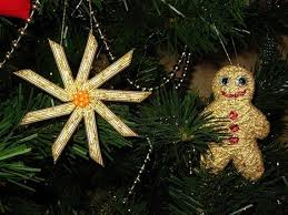 crafts for tree ornaments with pasta