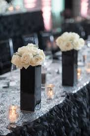 Silk Flower Wedding Centerpieces by Best 20 Black Vase Ideas On Pinterest Candle Tray Black Office