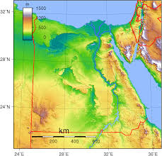 Topographical Map Of Europe by Maps Of Egypt Worldofmaps Net Online Maps And Travel Information