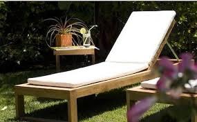 Teak Chaise Lounge Maku Furniture Teak Chaise Lounge U0026 Cushions