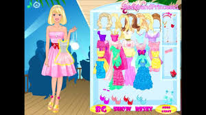 barbie games barbie doll dress game