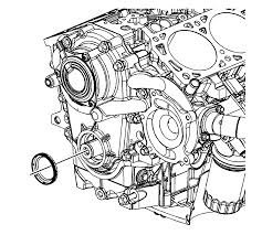 repair instructions on vehicle crankshaft front oil seal