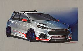 ford focus concept ford focus concepts bring racing thrills and custom chills