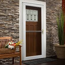 storm door with screen and glass picking the right andersen storm door glass type
