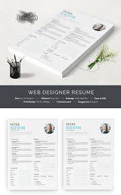 Web Design Resume Template 41 One Page Resume Templates Free Samples Examples U0026 Formats