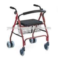 elder walker 4 wheel rollator elder walker for disabled buy lightweight