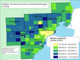 Michigan Counties Map Detroit Maps