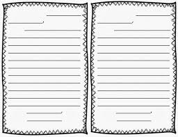 letter writing paper personalized writing paper for kids