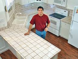 How To Install A Laminate Kitchen Countertop - install tile over laminate countertop and backsplash laminate