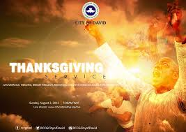 august 2015 thanksgiving service