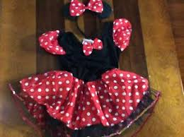 Minnie Mouse Halloween Costume Toddler Toddler Girls Minnie Mouse Halloween Costume Size 4t Nwt Ebay