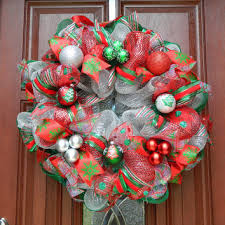 christmas wreaths for sale best silver mesh wreath products on wanelo