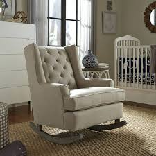 Nursery Glider Recliner Image Of Chevron Themed Nursery Glider Recliner Best Nursery