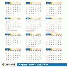 Gambar Kalender 2018 Lengkap Gratis Free Template Kalender 2018 Lengkap Hijriyah Dan