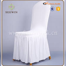 Used Wedding Chair Covers Selling White Wholesale Cheapest Pleated Skirt Chair Cover