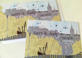 wedding invitations edinburgh wedding stationery with a difference palace