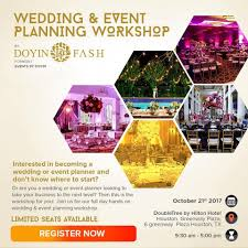where to register for wedding doyin fash hosting wedding event planning workshop rayce pr