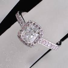 pink wedding rings free diamond rings black wedding rings with pink diamonds black
