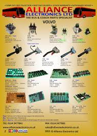 volvo commercial parts volvo commercial vehicle parts from alliance electronics ltd tel
