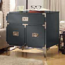 hidden compartment nightstand wayfair