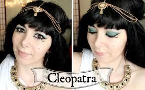 Cleopatra Makeup Tutorial Halloween Costume Ideas Youtube Cleopatra Diy Costume Youtube