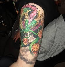 shenlong dragon ball z tattoo the dao of dragon ball the dao