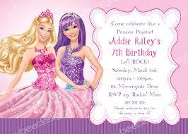 barbie princess power birthday party barbie princess popstar