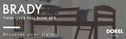 Bunk Bed Pics Dorel Living Brady Solid Wood Kid S