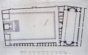plan of severan forum leptis magna it looks like the forum of